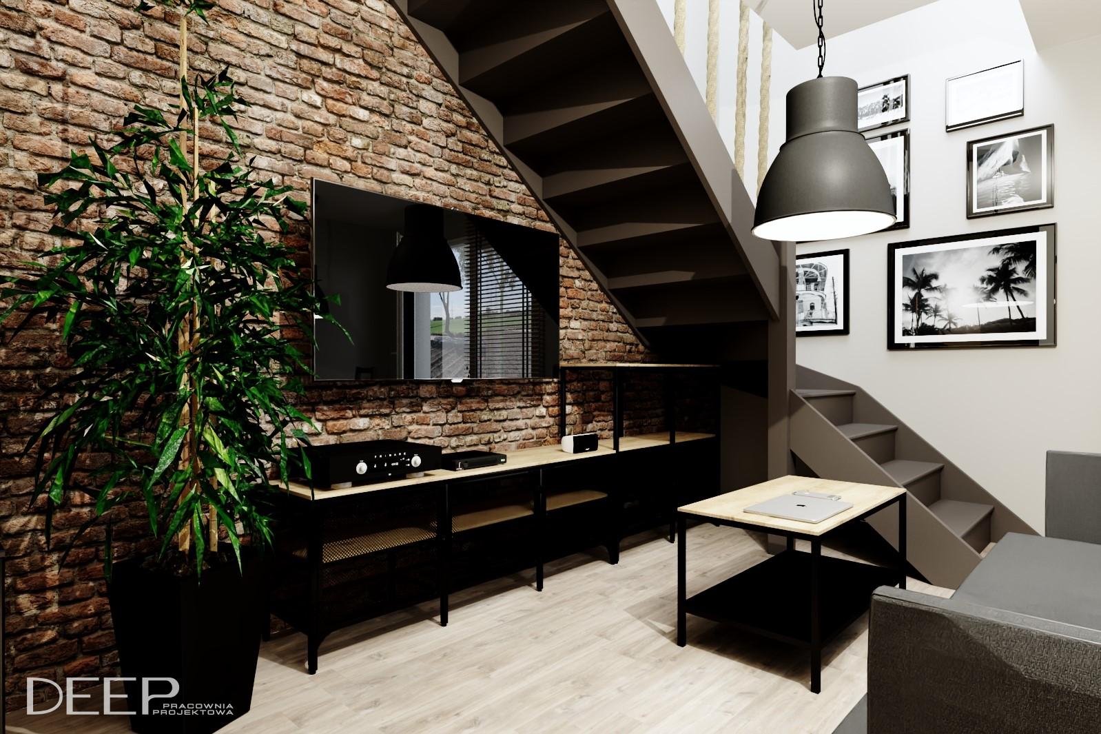 DEEP - projekt salonu