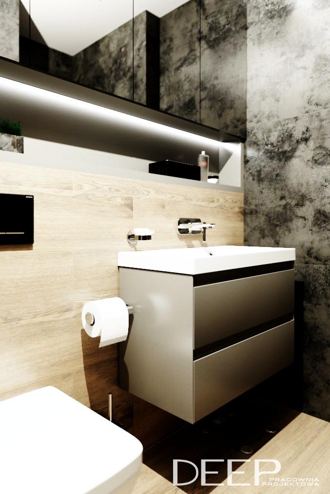DEEP - projekt łazienki